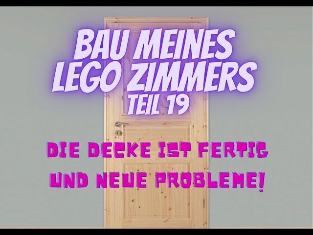 Bau meines LEGO Zimmers Teil 19 - Update