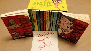 Roald Dahl Book Collection Kid Review