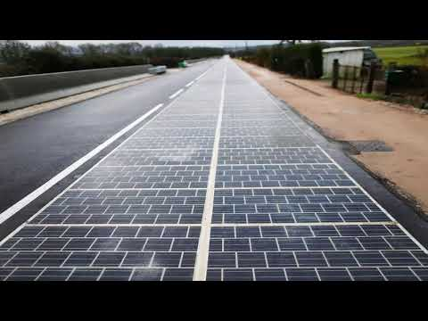 OMG!! World's First Solar Highway