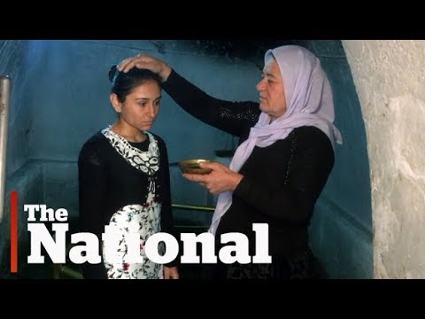 Yazidi women heal after escaping from ISIS