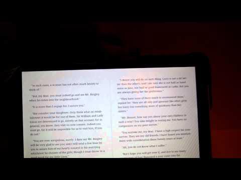 모토로라 줌 Motorola Xoom e-book
