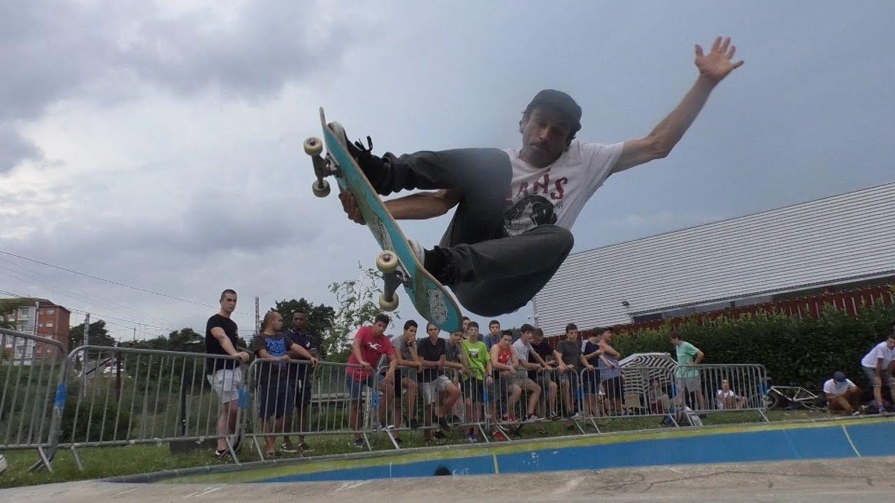 25 bat lagunek hartu zuten parte Basque Pool Skate Txapelketan