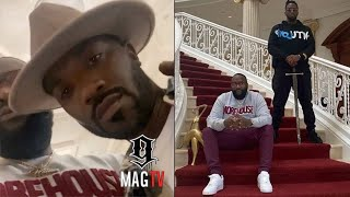 Rick Ross Gives Diddy & Ray J A Tour Of His Georgia Mansion! 🏡