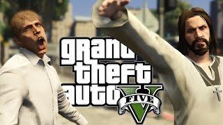 JESUS CHRIST SIMULATOR - Grand Theft Auto V - Director Mode & Cheats