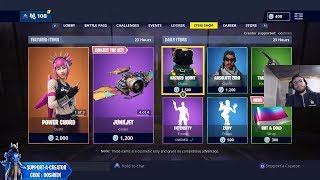 SKINS DAILY - Fortnite Item Shop COUNTDOWN Today [30 janvier] (Fortnite Battle Royale LIVE)