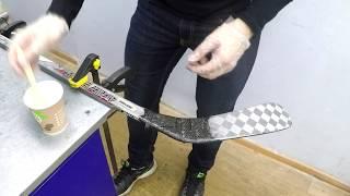 Внешний ремонт клюшки