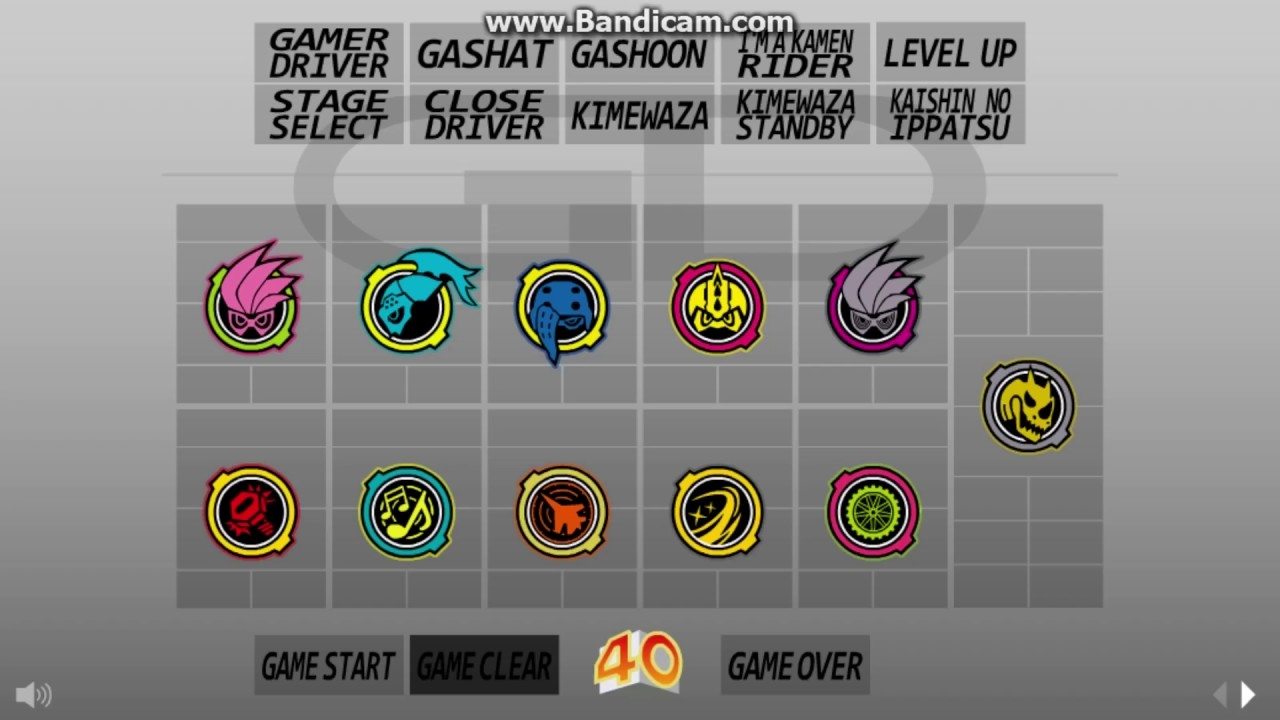 Kamen Rider Ex-Aid Soundboard