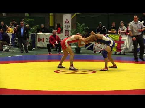 2014 Junior National Championships: 55 kg Sam Jagas vs. Melvin Arciaga