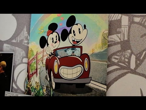 Mickey and Minnie's Runaway Railway preview & concept art at Walt Disney World