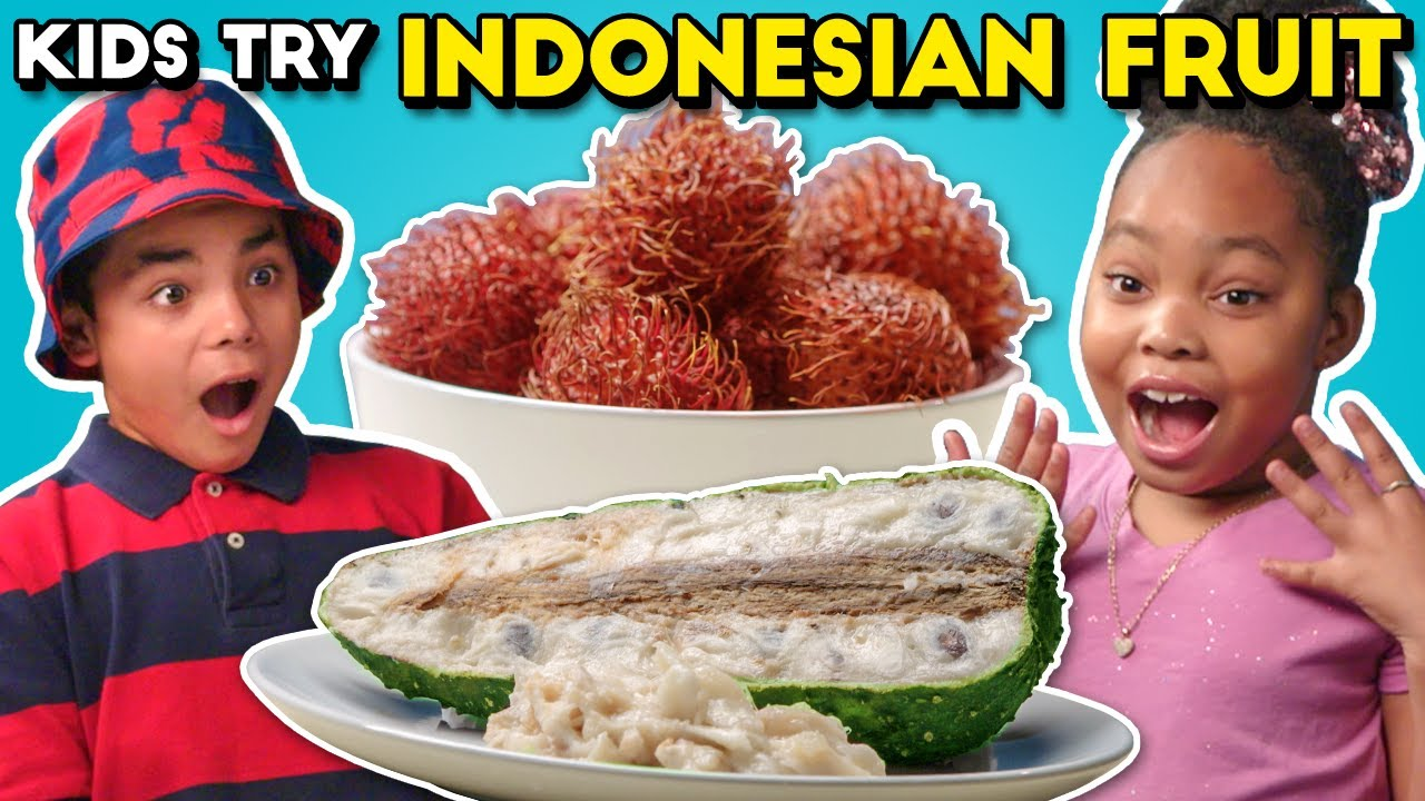 Kids Vs. Food | Indonesian Fruits