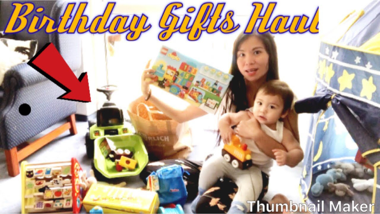 Birthday Gifts Haul| Pinay in Germany