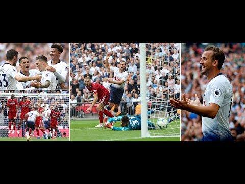 Tottenham vs Fulham: Kane scores his first Premier League goal in August - YouTube