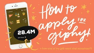 GIPHY ✴  how to apply as an artist + get your GIFs approved for IG stories
