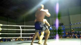 oz vs sean plant title fight nz muay thai