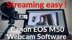 Canon EOS Kameras einfach als Streamcam Webcam nutzen ? Canon EOS Webcam Utility Software Test