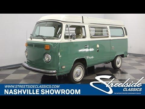 1978 Volkswagen Westfalia Camper Bus for sale | 1008-NSH