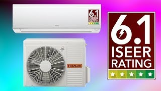 India 39 s first Hitachi 1 ton 5 star 6 1 iseer split inverter ac Unboxing RSB CSB ESB-512AAEA