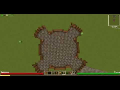 красивый взрыв в Minecraft часть 3