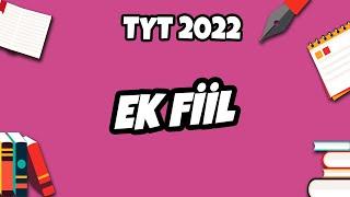 Ek Fiil  TYT Türkçe 2022 hedefekoş