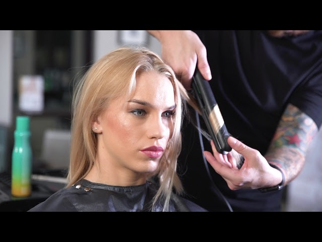 JOICO Beach Shake: how to create tousled waves