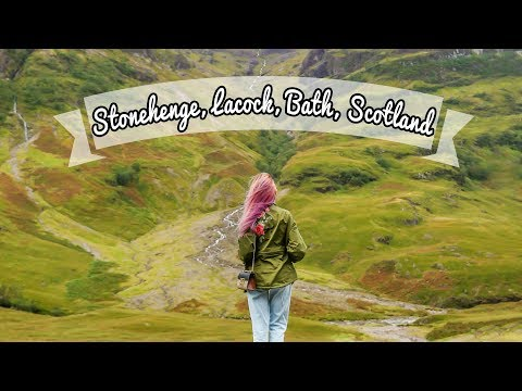Travel Diary: Stonehenge, Bath, Lacock and Edinburgh, Scotland | Camille Co