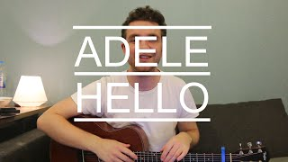 Adele - Hello (Guitar Lesson/Tutorial/Chords/How to play)