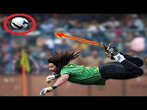 Top 10 Crazy Goalkeeper Skills