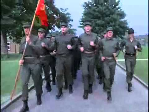 Full Metal Jacket Singing Soldiers All Cadences Youtube