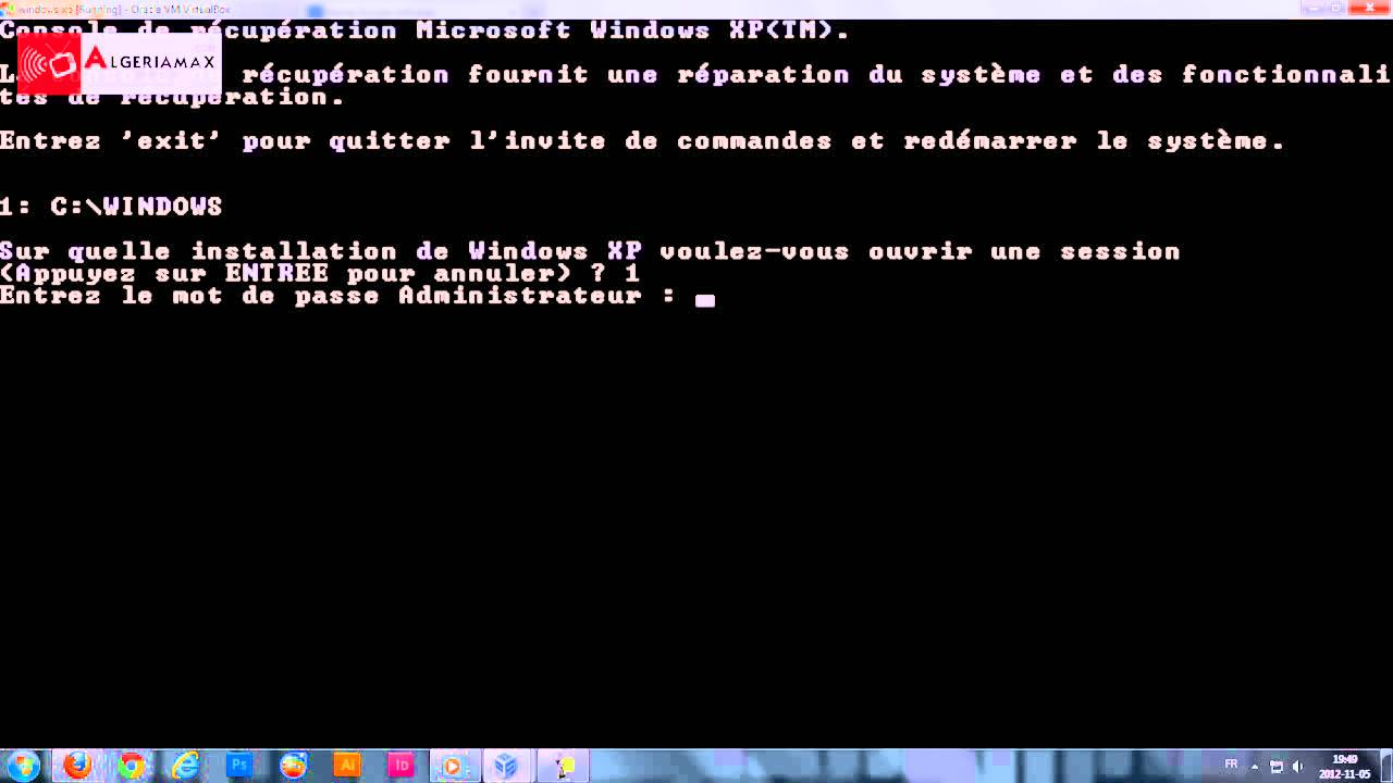 fichier ntldr windows xp