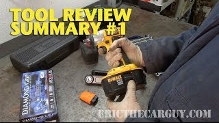 Tool Review Summary #1 -Ericthecarguy