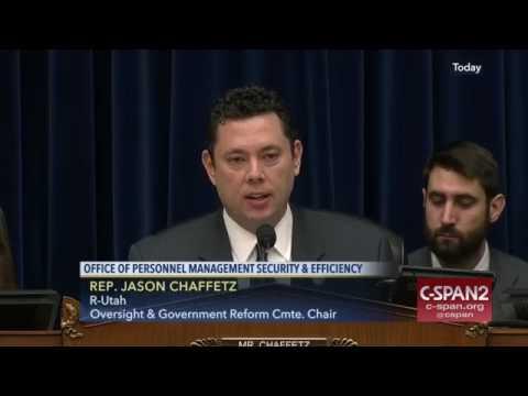 Jason Chaffetz 'You are a Joke' National Background Investigations Bureau (FULL VIDEO)