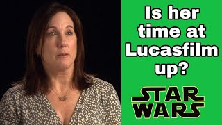 KATHLEEN KENNEDY'S TIME AT LUCASFILM MIGHT BE OVER SOON