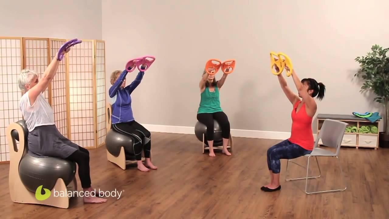 smartbells®: esercizi per le braccia da seduti - youtube
