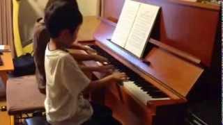 仲良しピアノ友達と。 たまには息抜きにこんな曲もいいね。