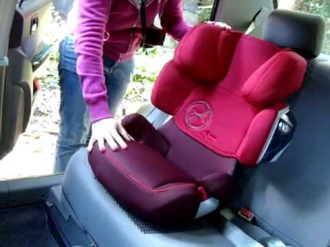 cybex solution x2 fix 2013 youtube. Black Bedroom Furniture Sets. Home Design Ideas