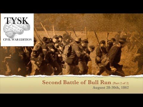 1862-60 Part 2 Second Manassas August 28–30 1862