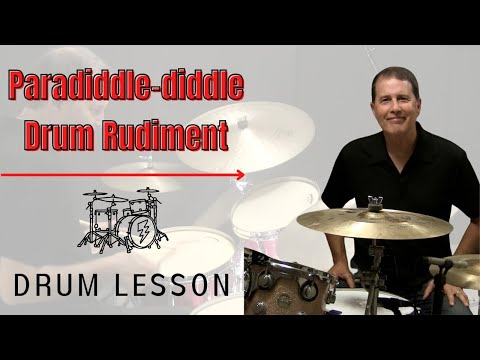 Paradiddle-diddle Drum Rudiment - Online RUDIMENTAL Drum Lesson with John X