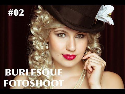 Burlesque fotoshoot met Marijke!