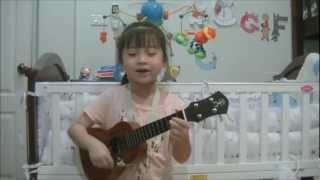 Love Paradise Ukulele Cover by Gail Sophicha 6 Years Old.