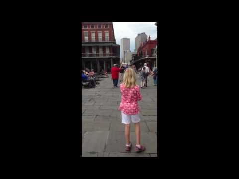 SEE WHAT IT'S LIKE!! New Orleans French Quarter - Street Music!!!