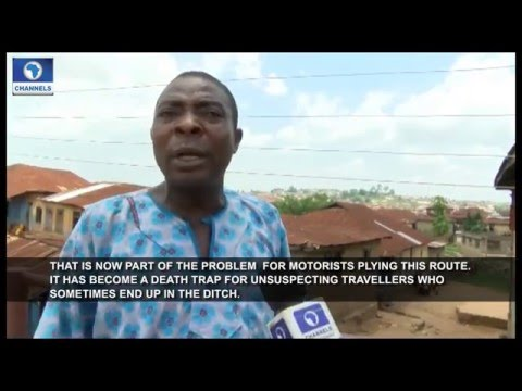 Eyewitness Report Visits Osun State Over Fallen Mubarak Bridge