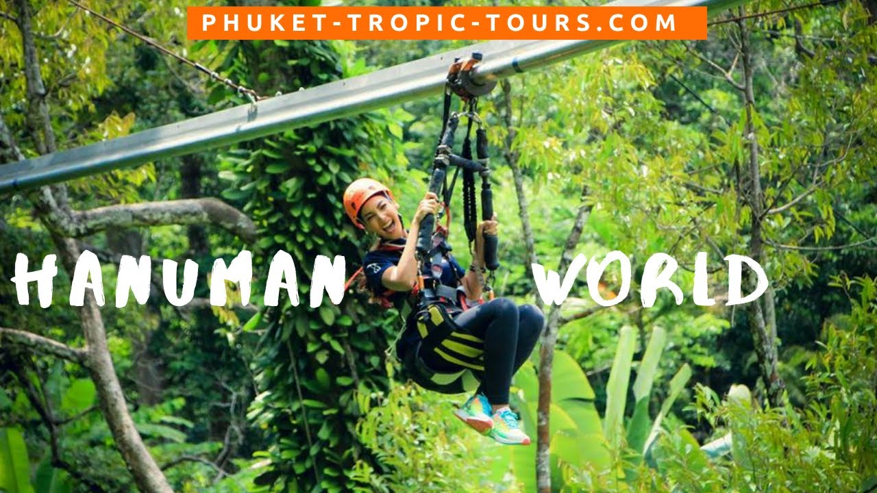 Hanuman World Phuket, video overview: