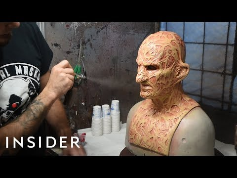 How Masks Are Made For Hollywood | Movies Insider