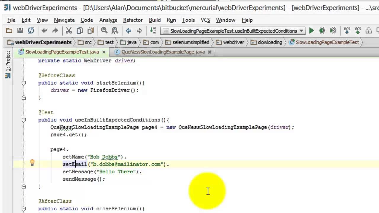 How to create Fluent Page Object Models - a Tip for Selenium WebDriver  using Java