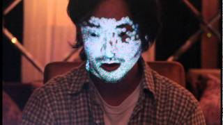 face projection test -02 (Daito Manabe with Zachary Lieberman)