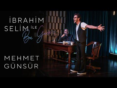 İbrahim Selim ile Bu Gece #12: Mehmet Günsür, ekho