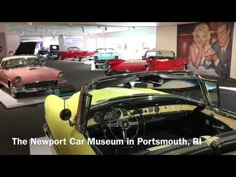 Scenes from the Newport Car Museum in Portsmouth, RI