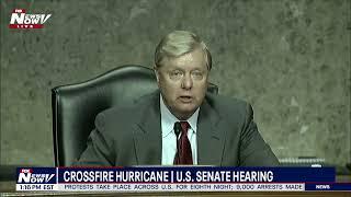 Crossfire Hurricane Senate Hearing Into President Trump 2016 Campaign   Rod Rosenstein FULL HEARING