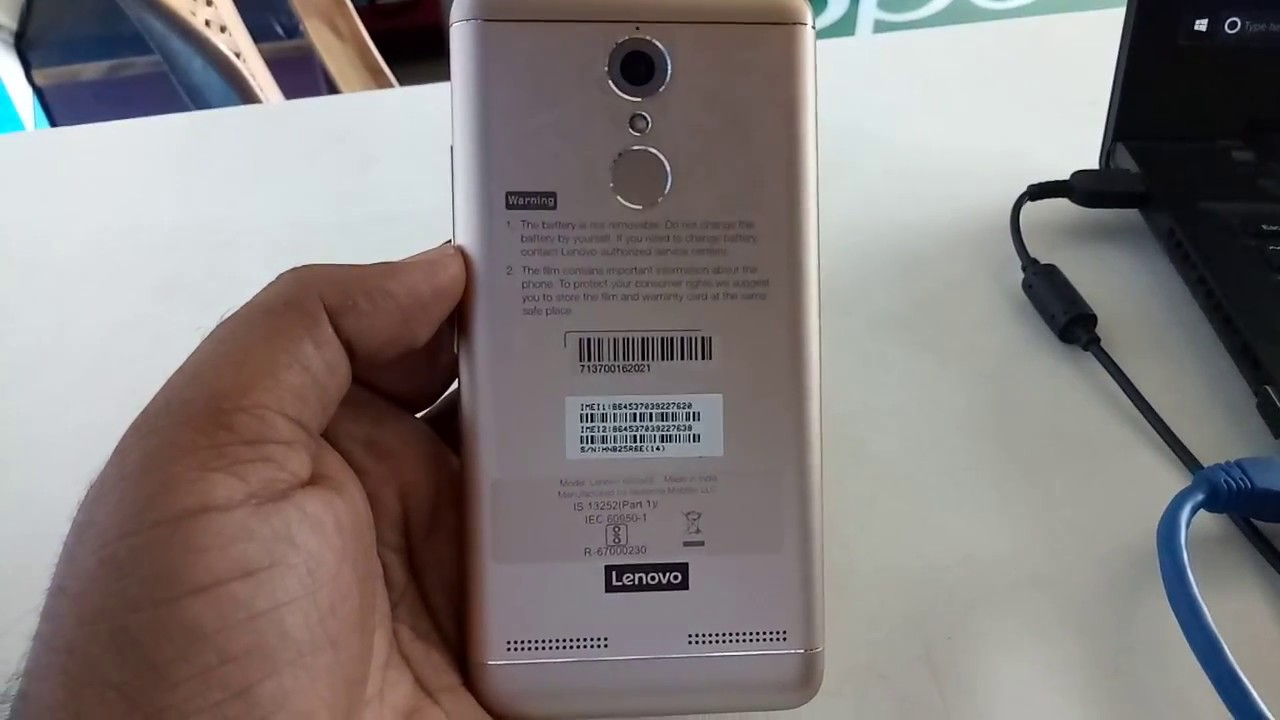 How to Go to Recovery / Fastboot Mode on Lenovo K6 Power