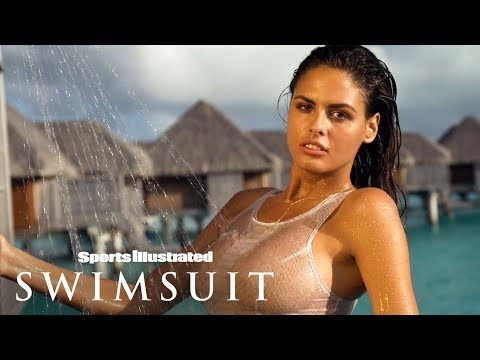 bo-krsmanovic-gets-wet,-takes-it-off-in-tropical-tahiti-|-uncovered-|-sports-illustrated-swimsuit